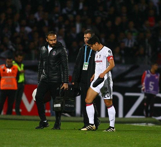 Gençlerbirliği-Beşiktaş maçından kareler 1