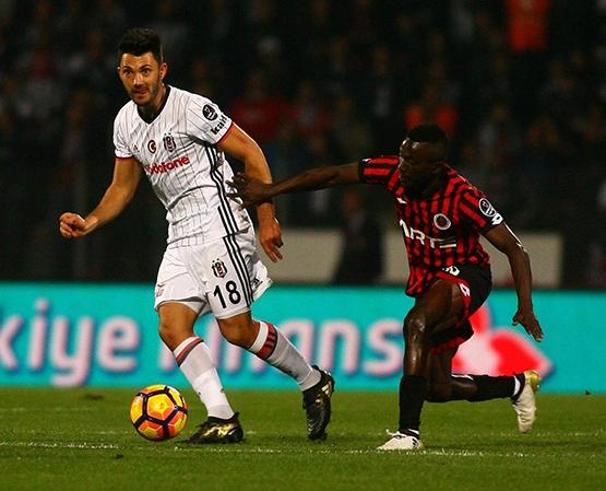 Gençlerbirliği-Beşiktaş maçından kareler 16