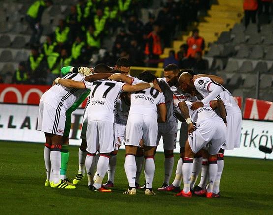 Gençlerbirliği-Beşiktaş maçından kareler 19