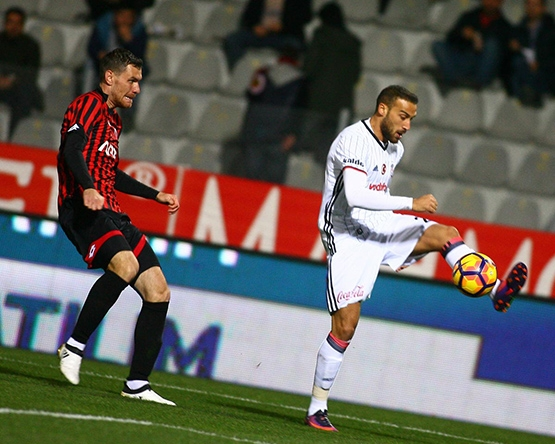 Gençlerbirliği-Beşiktaş maçından kareler 20