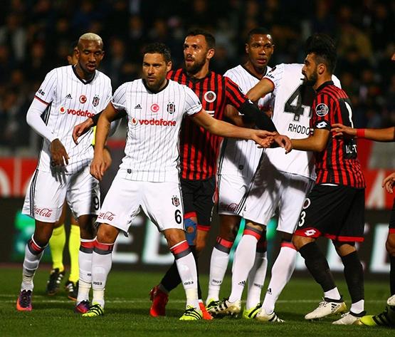 Gençlerbirliği-Beşiktaş maçından kareler 24