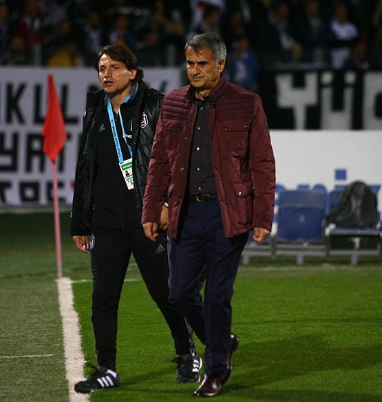 Gençlerbirliği-Beşiktaş maçından kareler 28