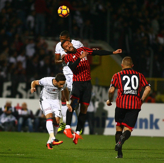 Gençlerbirliği-Beşiktaş maçından kareler 3