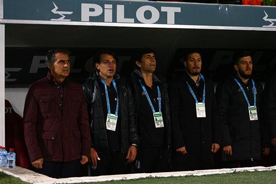 Gençlerbirliği-Beşiktaş maçından kareler 6