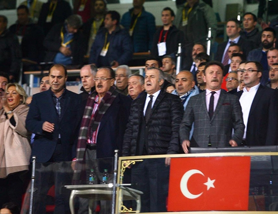 Gençlerbirliği-Beşiktaş maçından kareler 7