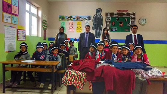 Beşiktaş'ın sıcaklığı bir köy okulunu daha ısıttı 16
