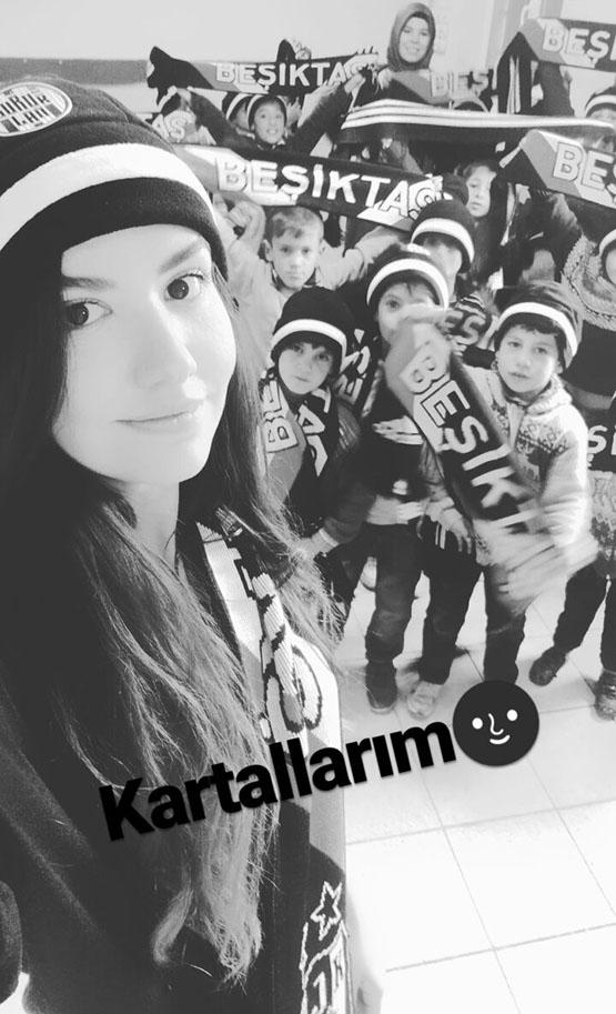 Beşiktaş'ın sıcaklığı bir köy okulunu daha ısıttı 3