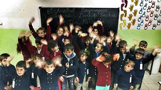 Beşiktaş'ın sıcaklığı bir köy okulunu daha ısıttı 9