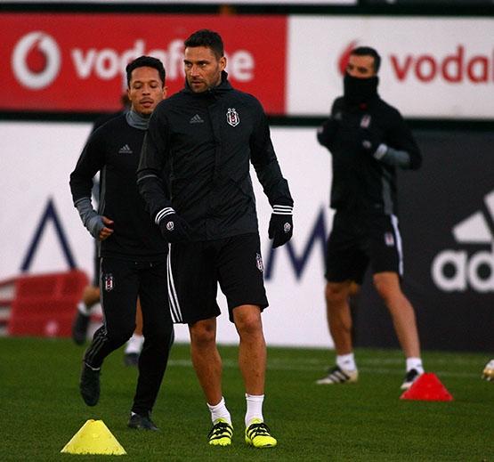 Beşiktaş antrenmanından kareler 10