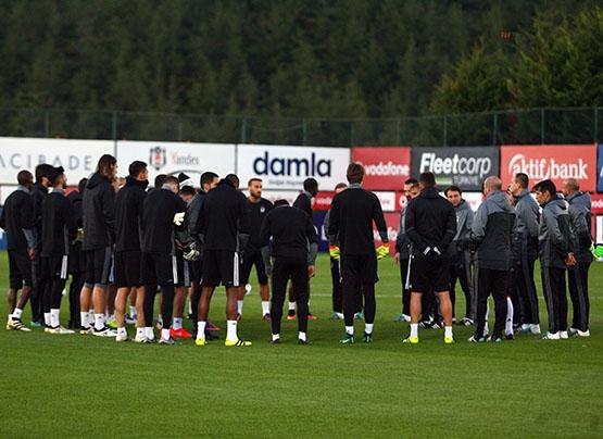 Beşiktaş antrenmanından kareler 4
