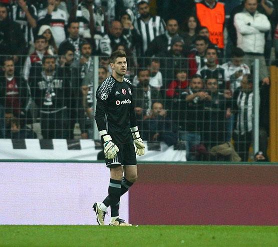 Beşiktaş - Napoli maçından kareler 11