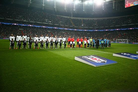 Beşiktaş - Napoli maçından kareler 14