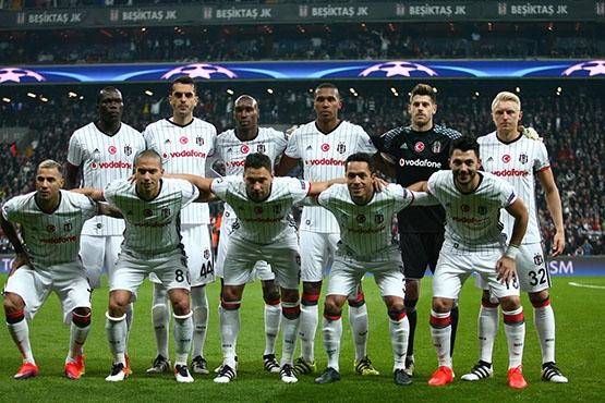 Beşiktaş - Napoli maçından kareler 16