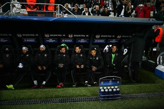 Beşiktaş - Napoli maçından kareler 2