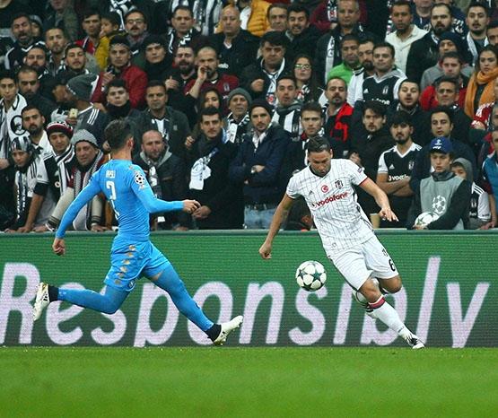 Beşiktaş - Napoli maçından kareler 20