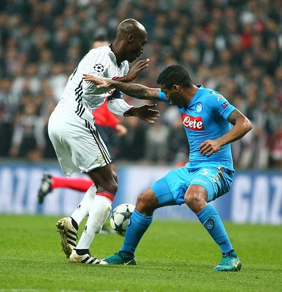 Beşiktaş - Napoli maçından kareler 4