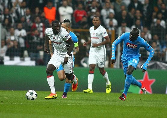 Beşiktaş - Napoli maçından kareler 7