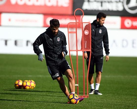 Beşiktaş Trabzonspor maçı hazırlığında... 12