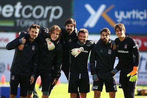 Beşiktaş Trabzonspor maçı hazırlığında... 5
