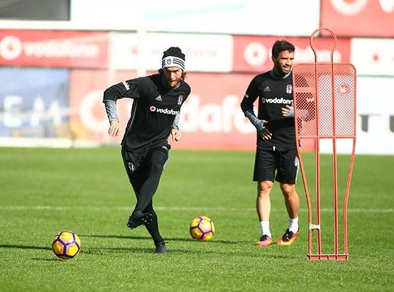 Beşiktaş Trabzonspor maçı hazırlığında... 6