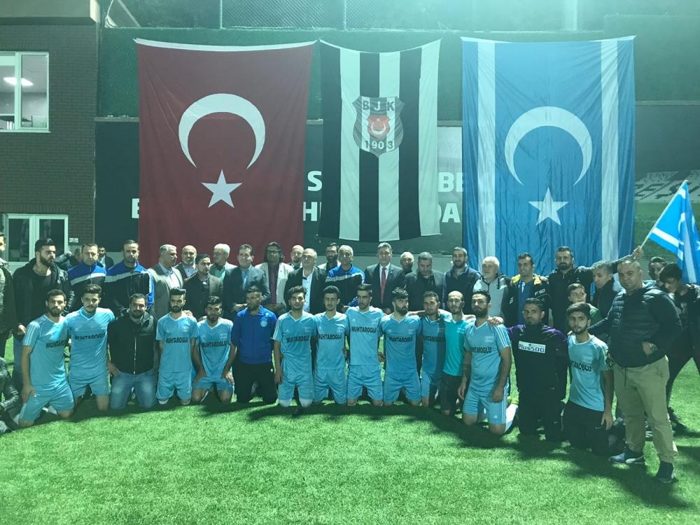 Beşiktaş ve Türkmeneli, dostluk için oynadı 1