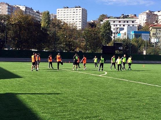 Beşiktaş'ın antrenörleri buluştu 1