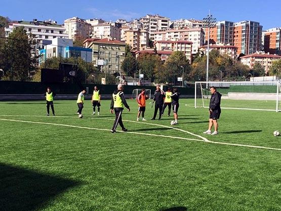 Beşiktaş'ın antrenörleri buluştu 2