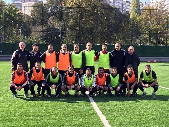 Beşiktaş'ın antrenörleri buluştu 3