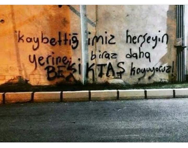 Duvar yazılarında Beşiktaş 11