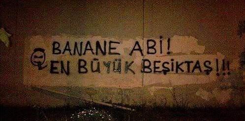 Duvar yazılarında Beşiktaş 14