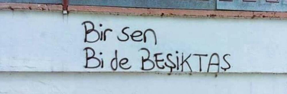 Duvar yazılarında Beşiktaş 15