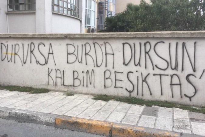 Duvar yazılarında Beşiktaş 16