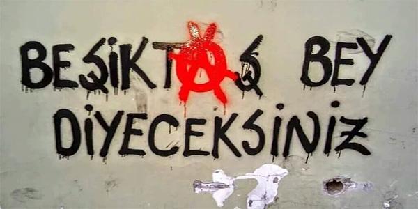 Duvar yazılarında Beşiktaş 3