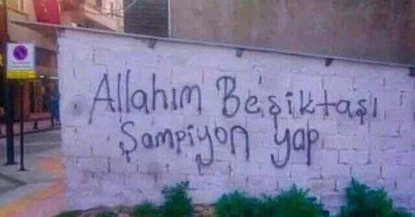 Duvar yazılarında Beşiktaş 5