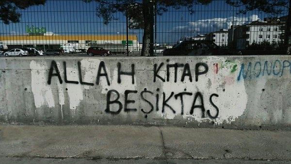 Duvar yazılarında Beşiktaş 6