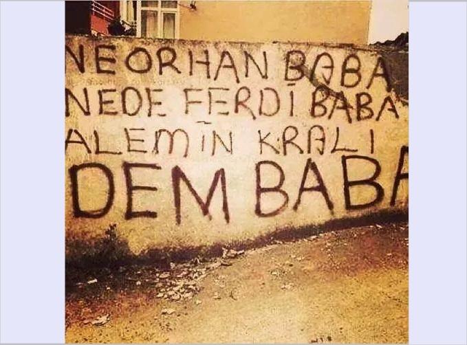 Duvar yazılarında Beşiktaş 7