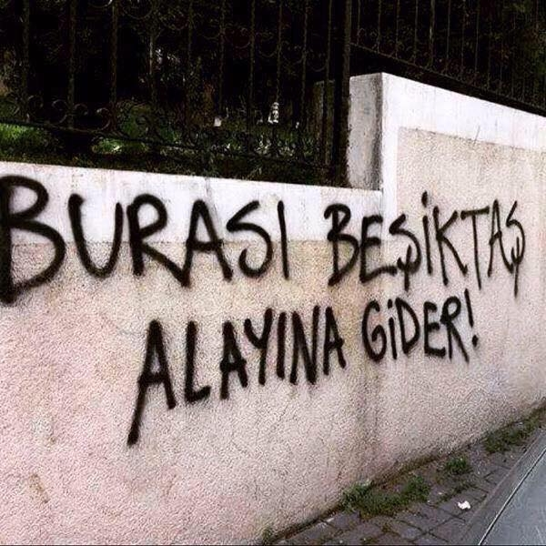 Duvar yazılarında Beşiktaş 9