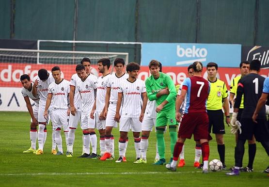 Beşiktaş - Trabzonspor (U-21) maçından kareler 12