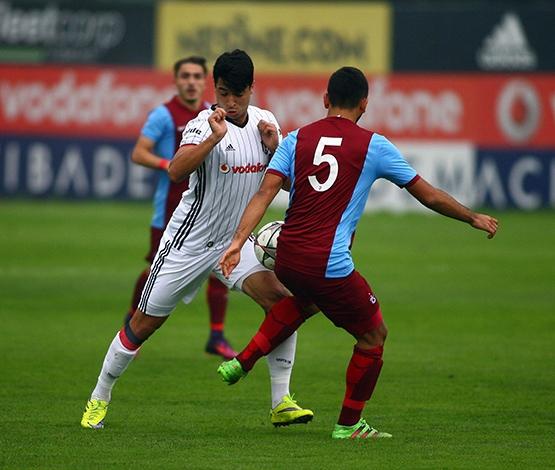 Beşiktaş - Trabzonspor (U-21) maçından kareler 17