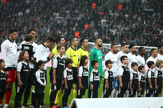 Beşiktaş-Trabzonspor maçından kareler 1