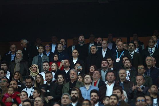 Beşiktaş-Trabzonspor maçından kareler 11