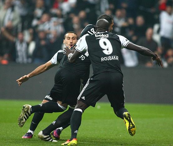 Beşiktaş-Trabzonspor maçından kareler 17