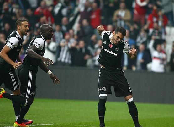 Beşiktaş-Trabzonspor maçından kareler 19