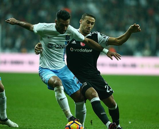 Beşiktaş-Trabzonspor maçından kareler 21
