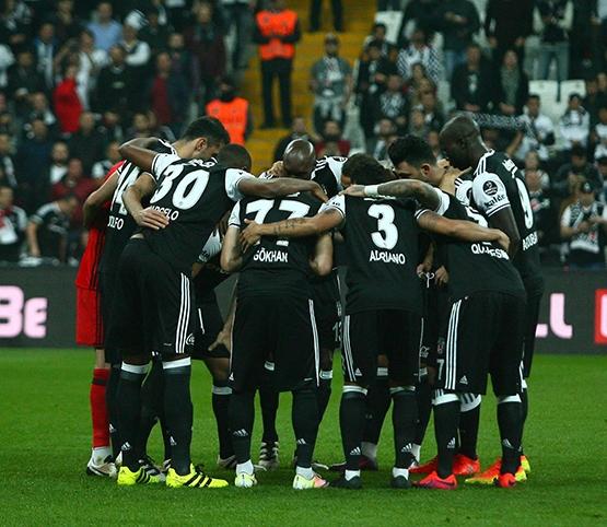 Beşiktaş-Trabzonspor maçından kareler 26