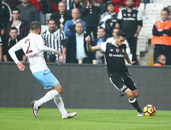 Beşiktaş-Trabzonspor maçından kareler 4
