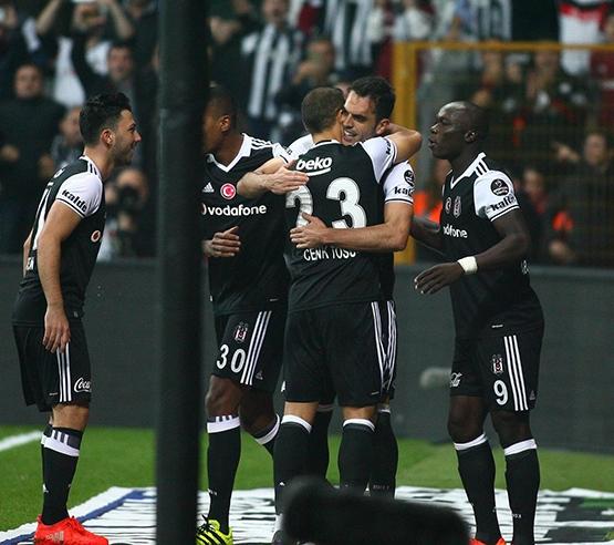 Beşiktaş-Trabzonspor maçından kareler 6