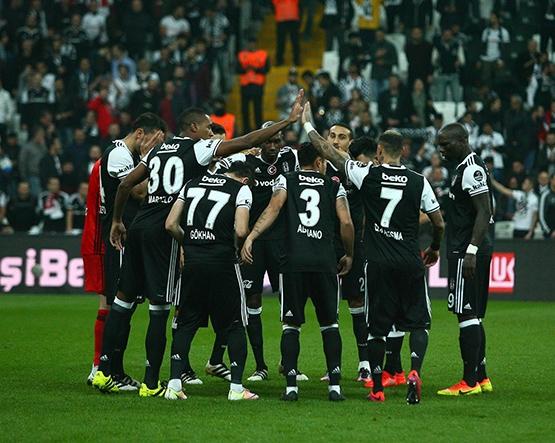 Beşiktaş-Trabzonspor maçından kareler 7