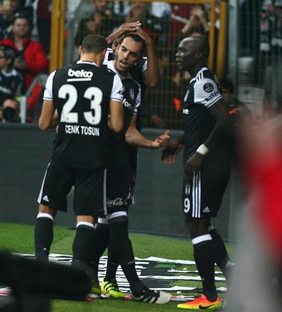 Beşiktaş-Trabzonspor maçından kareler 9