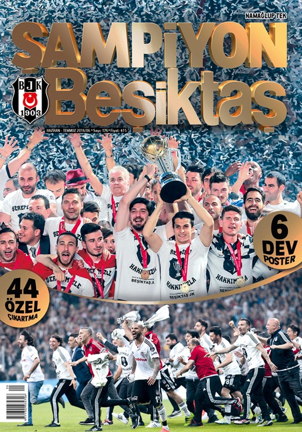 Beşiktaş Dergisi'nin şampiyonluk sayısı 1